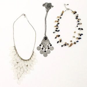 NAME YOUR PRICE! Bundle of 3 Statement Necklaces